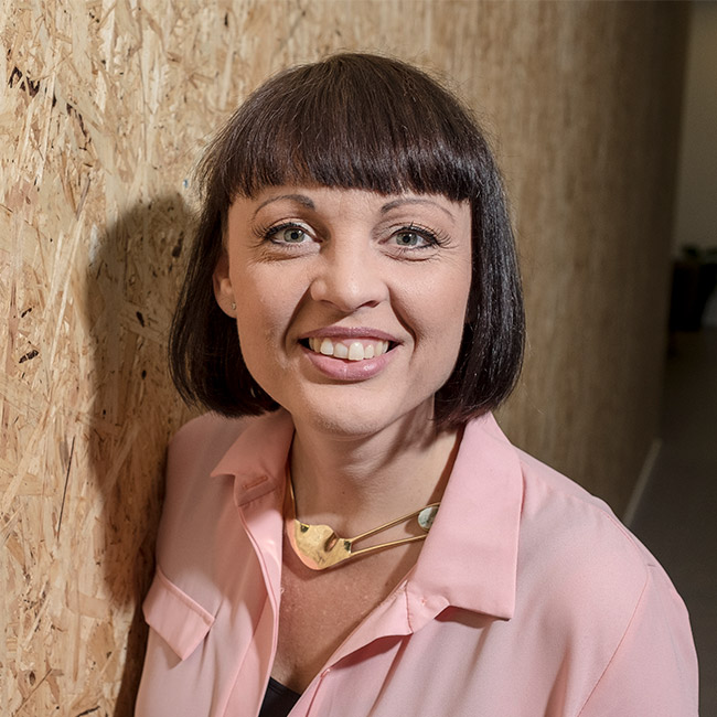 Portrait of Laila Pawlak